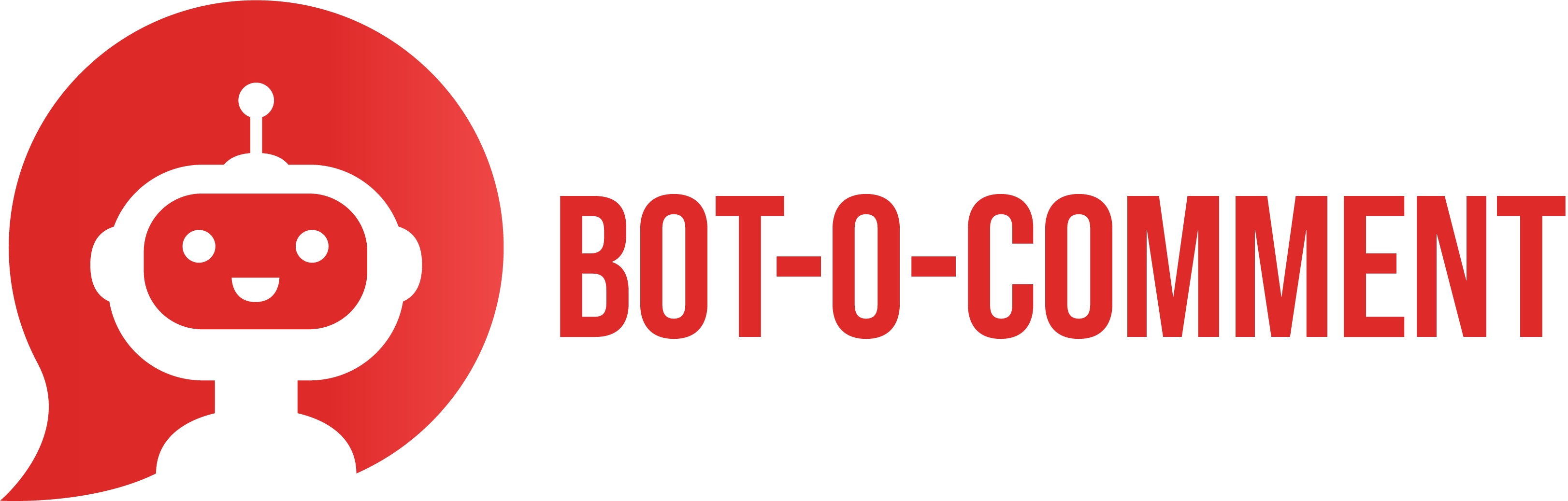 The logo of Bot-O-Comment.